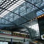 Главный вокзал Лертер в Берлине интерьер