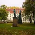 В саду Старого дворца