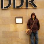 А. Деринг у Музея ГДР