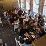 Амстердам - Делегация от Jaga в кафе