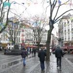 Брюссель - Площадь Сервантеса