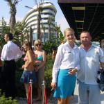 Даша и Попов в Конкорде