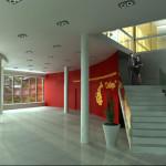Интерьер вестибюля концертного зала