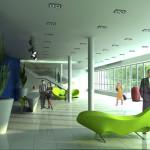 Интерьер вестибюля Делового центра