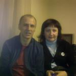 А. Деринг и С. Гетте в отеле
