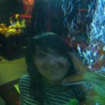 Вика в аквариуме