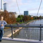 А. Деринг на мосту Гольбейна