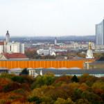 Панорама Лейпцига