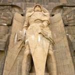 Памятник Битве народов - скульптура Архангела