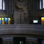 Памятник Битве народов интерьер
