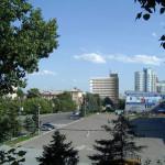 Фотомонтаж с видом от пл. Сахарова
