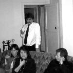 Анисифоров П. и Крылова Е. среди молодежи