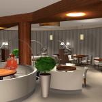 Ресторан КУ КУ LEX. Зал 2. Фрагмент
