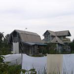Серые домики
