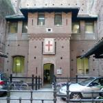 В крепости Сфорцеско