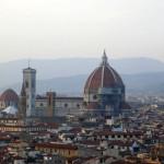 Вид Флоренции с пл. Микеланджело