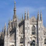 Милан собор гл. фасад