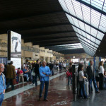 Перрон центр вокзала Флоренции
