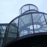 Берлин Исторический музей фрагмент фасад