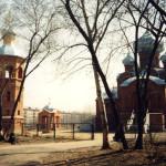 Комплекс церкви Александра Невского. Барнаул.