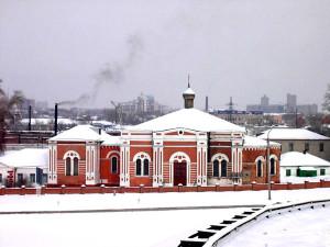 Южный фасад. Фото 2004 г.