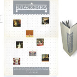 "Плакат и каталог выставки ЗАО ""Классика"" 1997 года"