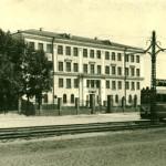 пр. Красноармейский, школа №42, 1954 г. Барнаул