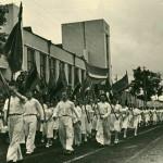 Городской фестиваль молодежи, стадион Динамо, 1956 г. Барнаул