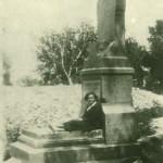 Нагорное кладбище На фоне разобранной Иоанновской церкви