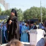 Епископ Максим произносит речь