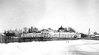 Дмитриевская Церковь, Барнаул. Вид со стороны пруда