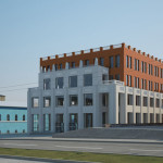 Фасад со стороны ул. Никитина
