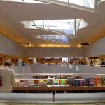 Хельсинки. Книжный магазин Аалто
