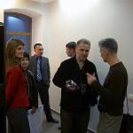 Н. Симонова, Е. Тисленко, О. Гутов, А. Деринг и А. Замащиков (Новосибирск)