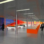 Конкурсный проект реконструкции киноконцертного развлекательного комплекса 'МИР' в г. Барнауле.