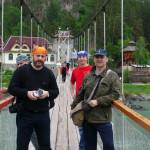 Мост через Катунь Царская охота