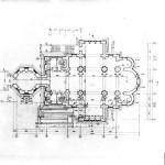 Церковь Александра Невского - план 1 этажа