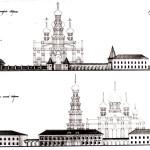 Церковь Александра Невского: конкурс 1992 г. - Развертки