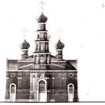 Церковь Александра Невского: конкурс 1992 г. - Западный фасад