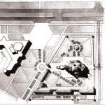 Церковь Александра Невского: конкурс 1992 г. - Генплан