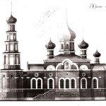 Храмовый комплекс Александра Невского: конкурс - Южный фасад