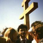 Деринг А.Ф. на освящении закладки церкви