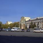 Вид со стороны Октябрьской площади (Фотомонтаж)