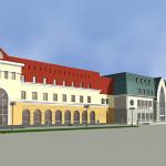 Новый торговый комплекс на площади Свободы, г. Барнаул