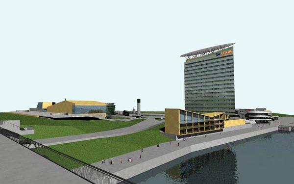 Многофункциональный комплекс на площади перед Речным вокзалом, Барнаул