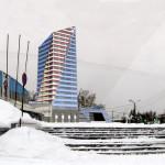 Вид со стороны ул Димитрова