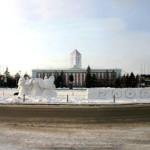Вид с площади Советов