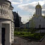 Вид на Церковь Святого Духа. Сергиев Посад