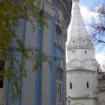Вид на Церковь Зосимы и Савватия. Сергиев Посад.