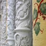 Трапезная, фрагмент стены. Сергиев Посад.